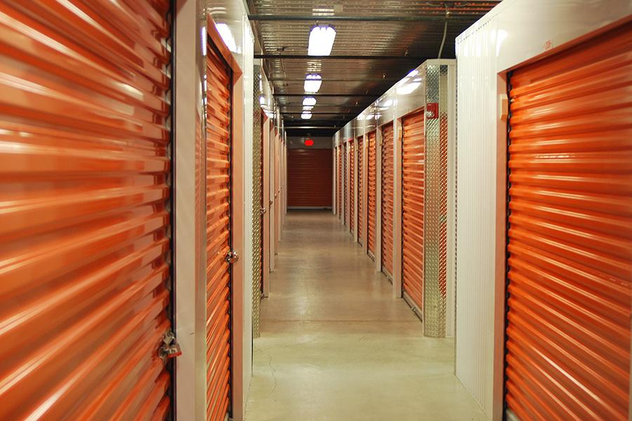 Self Storage Facility Insurance - View Inside Storage Unit Hallway